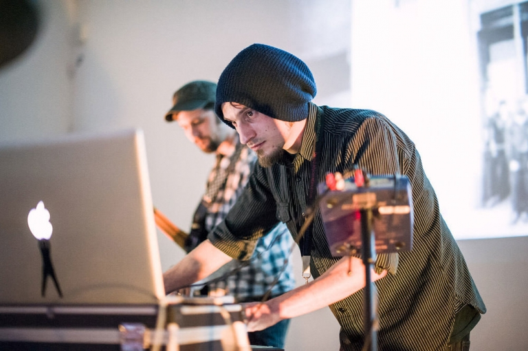 dj performing at event