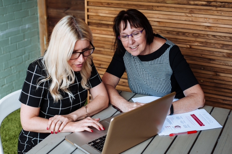 business mentoring photography